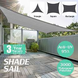 280GSM wysokiej gęstości polietylenu Farbic prostokąt 2x 3/2x4 chowany parasol przeciwsłoneczny schronienie na zewnątrz słońce schronienie parasol przeciwsłoneczny