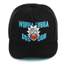 Rick and Morty New Khaki Dad Hat Crazy Baseball Cap American Anime Cotton Embroidery Snapback lovers Men Women ca