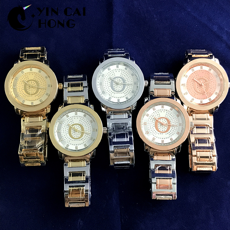 YCH Alloy Fashion Business Exquisite Men And Women Couple Quartz Watch Rose Gold High Quality Original Jewelry Fashion GiftYCH Alloy Fashion Business Exquisite Men And Women Couple Quartz Watch Rose Gold High Quality Original Jewelry Fashion Gift