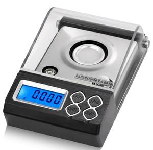 Image 3 - Balanza De Joyería Digital de alta precisión, 0.001g, LCD, miligramo, para contar diamantes, Gema de laboratorio