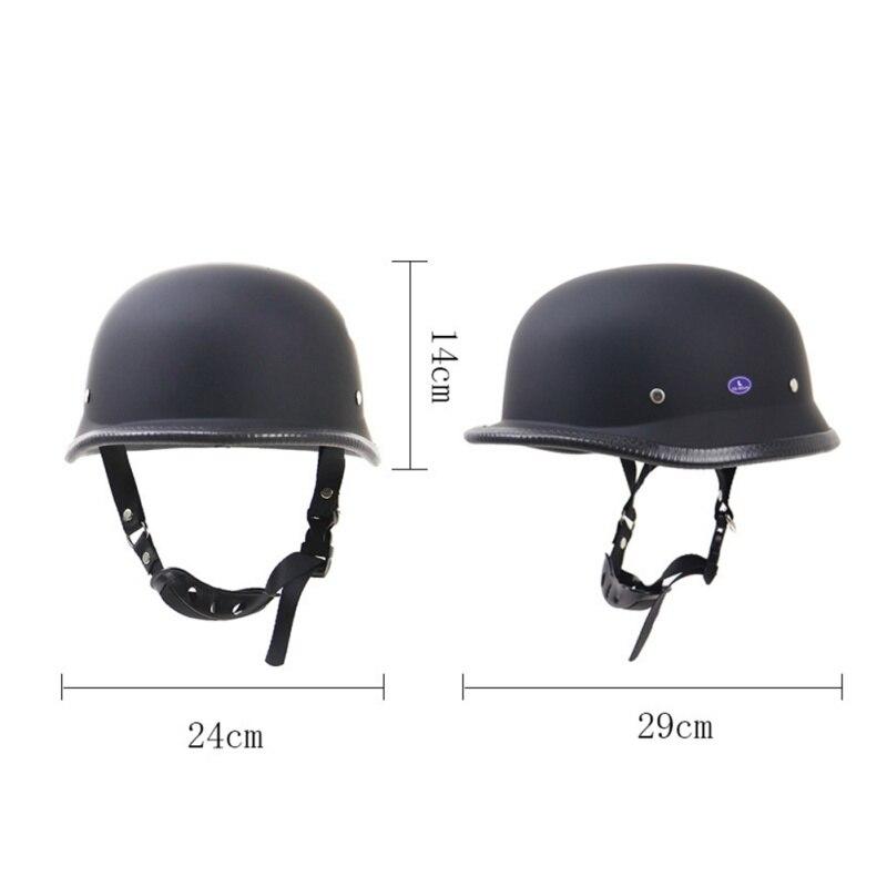1Piece ABS Motorcycle Helm Motorcross Capacete Half Helmet for Harley Retro