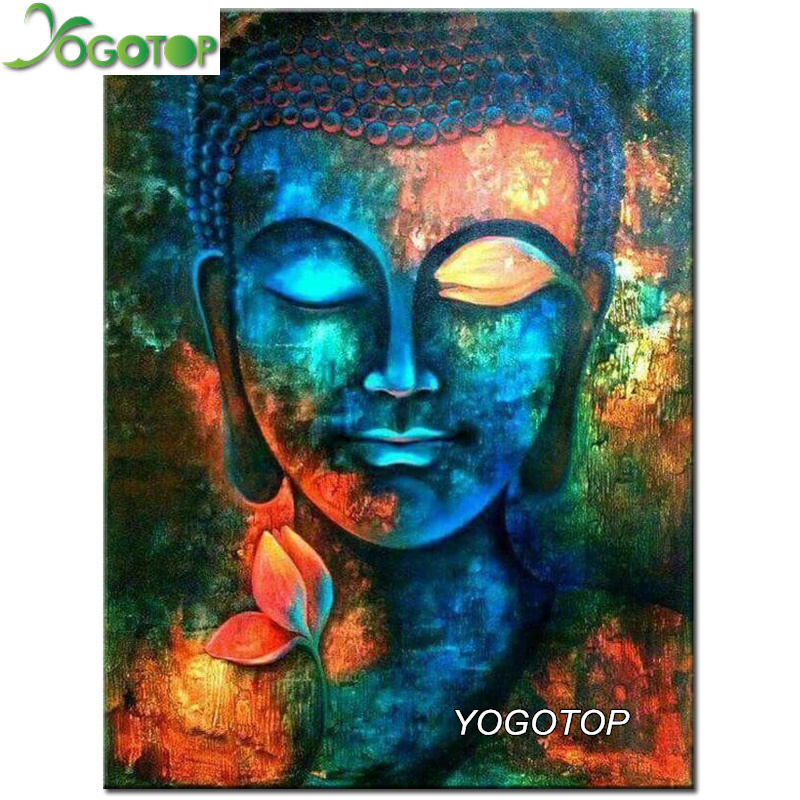 Yogotop 5d diamond painting cross stitch kit square for Diy mural painting