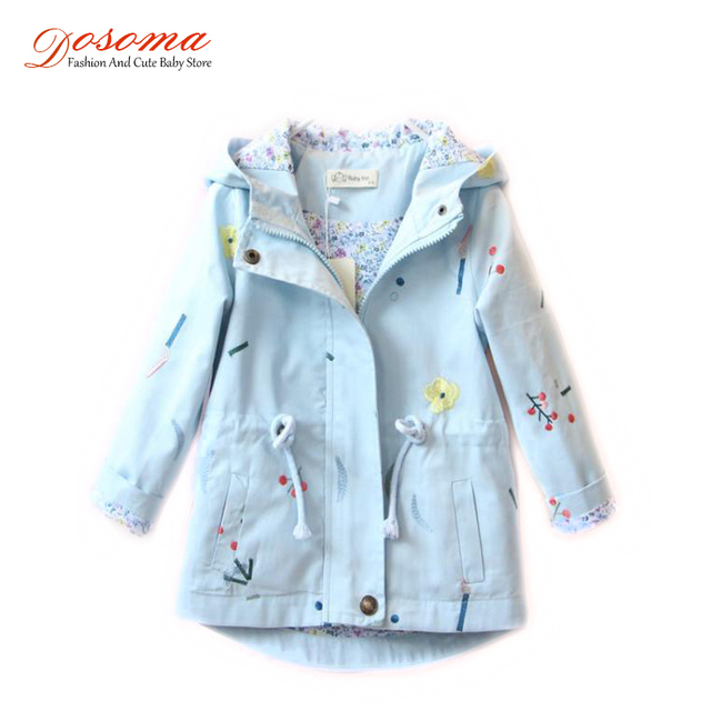 0e9d082526ef DOSOMA 2018 Spring Embroidery Flower Jackets For Girls Newborn Baby ...
