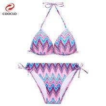 ФОТО women's plus size bikini set, explosion models neoprene dot swimwear, free shipping triangle vintage soft cup sexy swimsuit