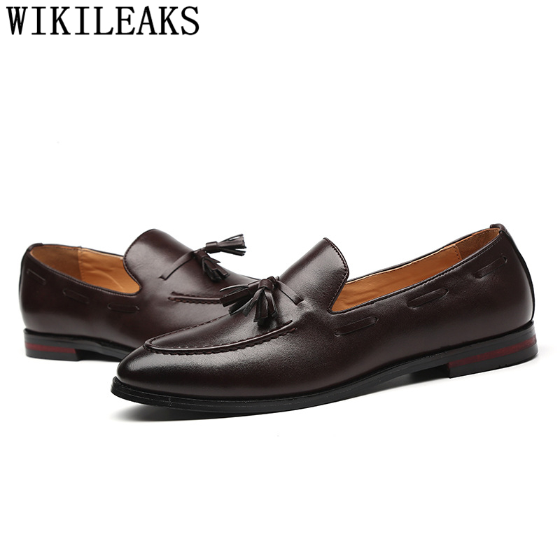 Formal Shoes Men Leather Office