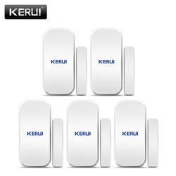 Оригинальный KERUI D025 433 мГц Беспроводной окна, двери магнит Сенсор детектор для дома Беспроводной сигнализации Системы
