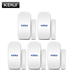 Original KERUI D025 433MHz Drahtlose Fenster Tür Magnet Sensor Detektor Für Home Drahtlose Alarm System