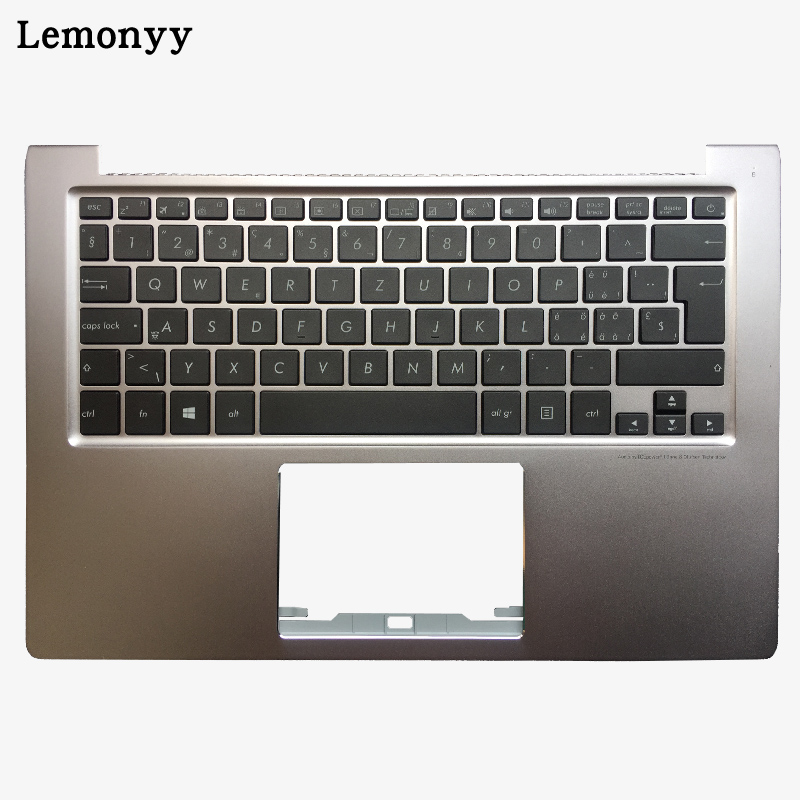 Switzerland backlit Laptop Keyboard For ASUS Zenbook U303 U303LB U303LN U303UA U303UB UX303L UX303 U303L UX303LN Palmrest Upper new laptop keyboard for medion md97789 md97791 md97827 md97828 md97829 md97837 md97869 md97883 md97884 sw switzerland