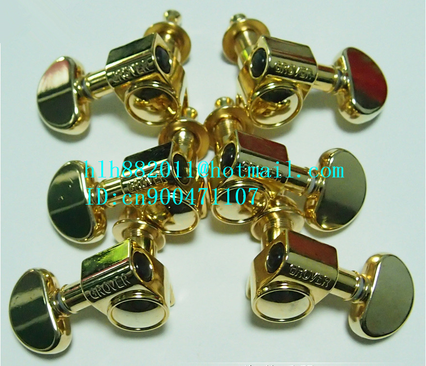 free shipping new LP electric guitar gold tuning peg guitar button for both side of the guitar  GR-1