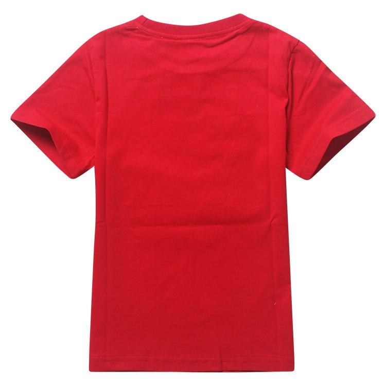 wholesale 10pcs/lot Robocar Poli Summer Tops Boys T shirts For Kids Cartoon Printed Children Costume