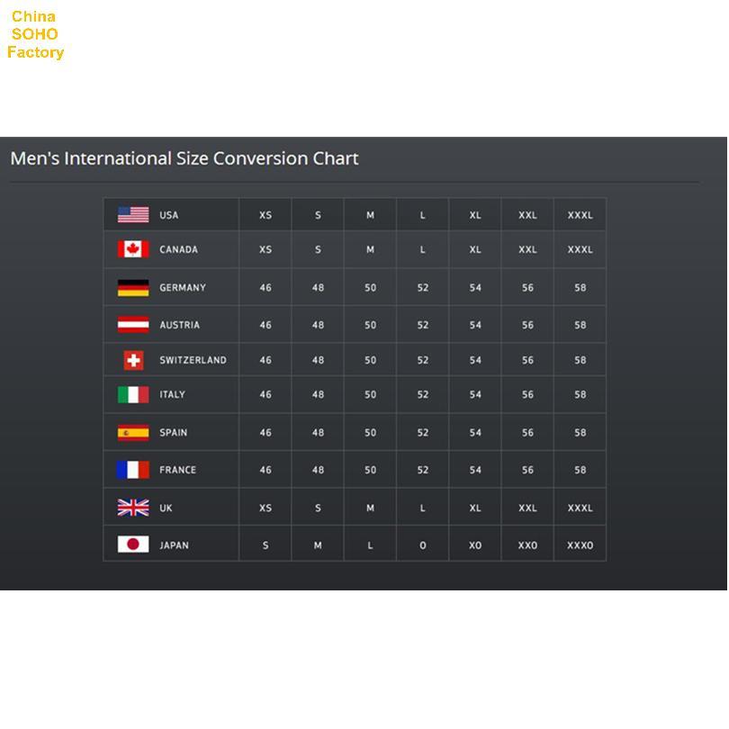 Italian Clothing Sizes Conversion Chart Mens Check Now Blog