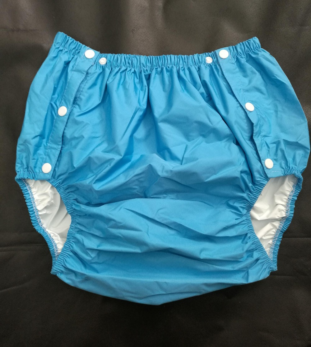 Free Shipping FUUBUU2204 BLUE XL part Safety trousers Physiological pants Adult Diaper incontinence pants Pocket diapers