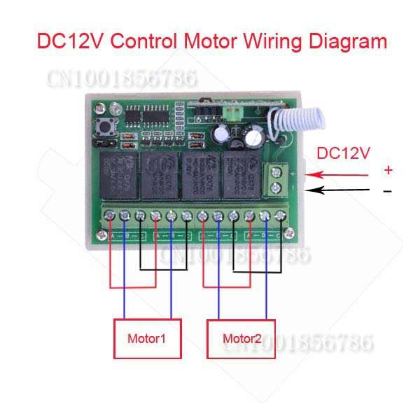 Online Shop High Quality 12V 4CH 200M Wireless Remote Control Relay