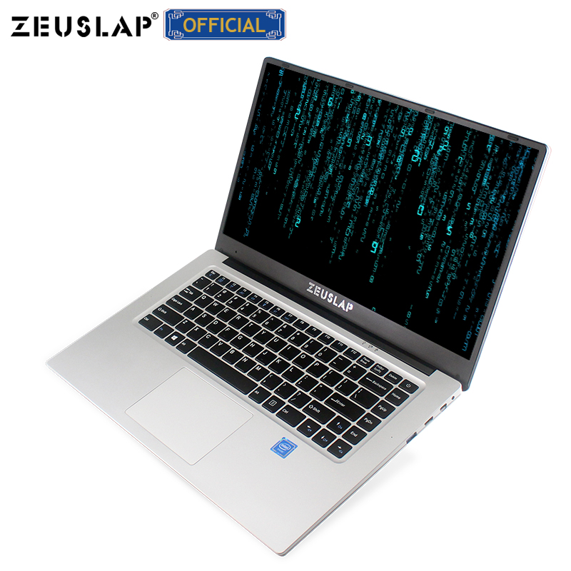 15.6inch 6GB RAM+128GB/256GB/512GB SSD Intel Quad Core CPU 1920*1080P IPS Screen Notebook Computer
