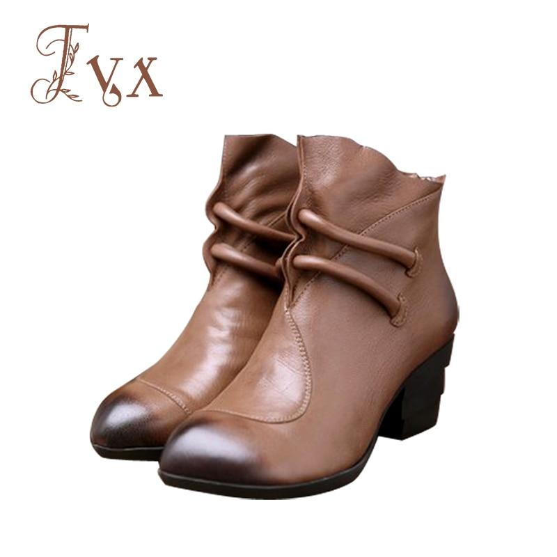 Tayunxing Genuine leather handmade shoes sheep skin women boots zipper med heel single/short plush insole comfort 5208-20 кровать comfort plush 152х203х56см со встроенным насосом 220в intex 64418