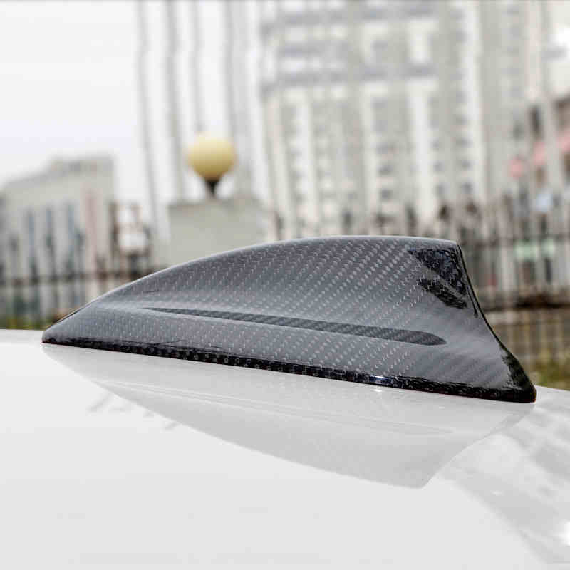 Car Styling Roof Shark Fin Antenna Radio Signal Aerials cover For BMW 1 2 3 4 5 7 Series 3GT X5 F15 X6 F16 F30 F10 F01 F10 F35 sincai shark fin style plastic decorative car antenna for bmw red