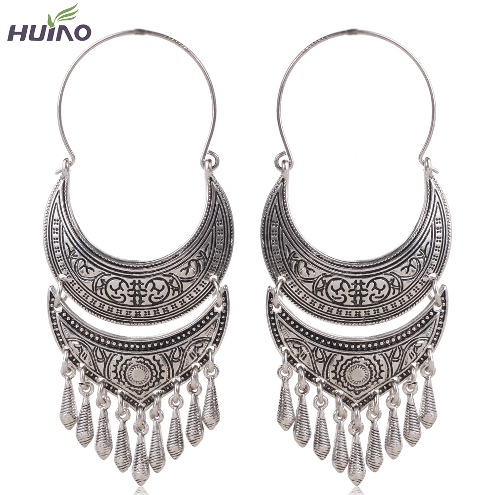 dangle accessories alibaba aliexpress design com bronze in earrings zinc on face plated heavy silver alloy drop retro item from jewelry antique big