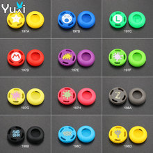2 pcs Silicone Analog Stick Grips Cover for PS3 PS4 Pro Slim Controller stick Caps for Xbox 360 One for Switch Pro цена и фото