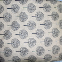 Cotton Linen Freeship For 5 1 5m Tolie Fabric 4 COLORS Matrix Tree For Cushion Bag