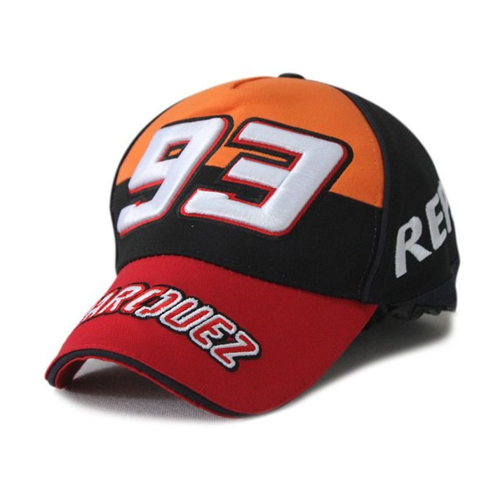Sport Cap F1 Car Motocycle Racing MOTO GP Marc Marquez 93 Embroidery  Baseball Cap Hat Racing Cap Adjustable Strap Free Shipping-in Baseball Caps  from ... 3eb26ea60ef