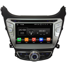 Android 8.0 HD 4GB RAM Octa Core 32GB ROM WiFi Multimedia Car DVD Player Radio Stereo GPS Navi For Hyundai Elantra 2014 2015