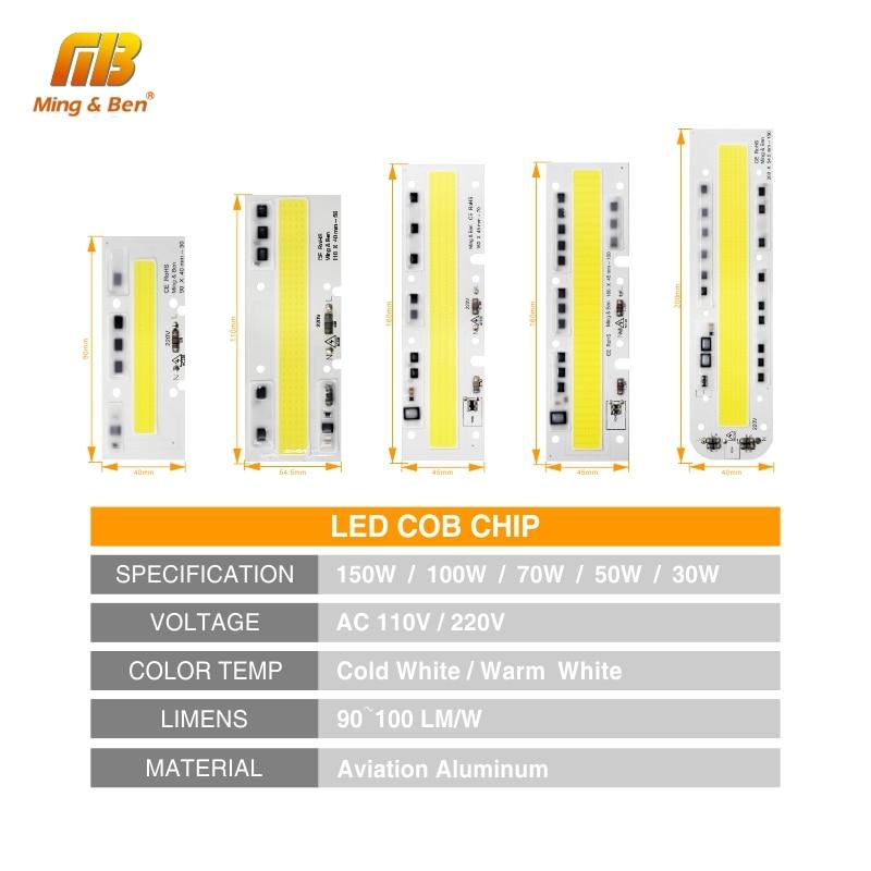 30W 50W 70W 100W 150W 220V 110V IP65 Smart IC - Жарықтандыру керек-жарақтары - фото 2