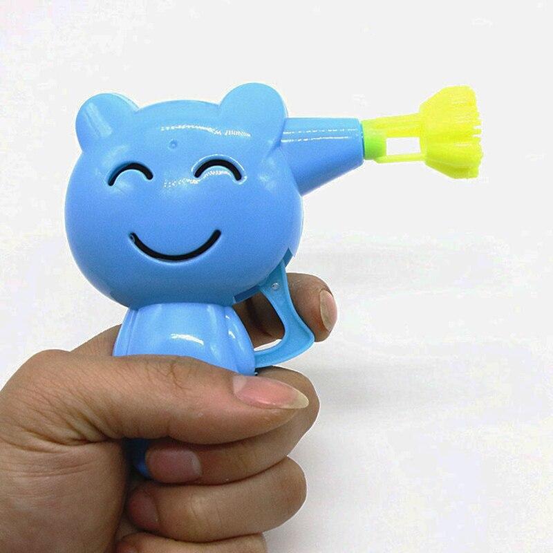 Kids Inertia Bubble Gun Toys Set cartoon animal shaped mechanical outdoor toys children  ...