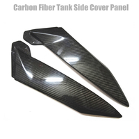 Motorcycle Carbon Fiber Tank Side Cover Panel Fairing For Yamaha YZF R1 2002 2003 B