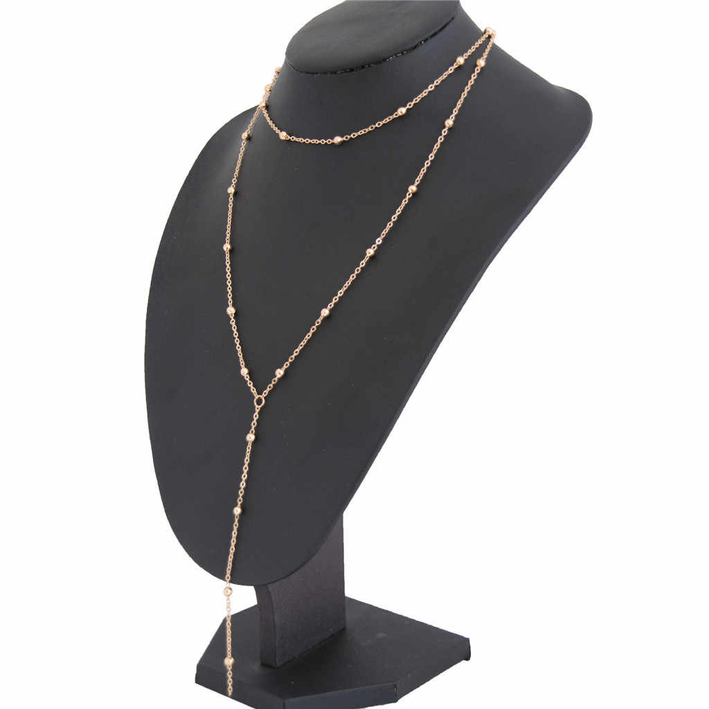 Elegante Colar de Pingente de Mulheres Senhoras Boho Jóias Collier Gótico Cadeia de Borla Gargantilha Kolye Meninas collares de moda 2019 L0507