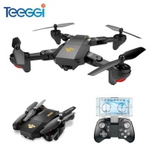 Teeggi VISUO XS809HW XS809W Selfie Drone Dengan Wide Angle HD Camera WiFi FPV RC Quadcopter Helikopter Mini Dron VS Eachine E58