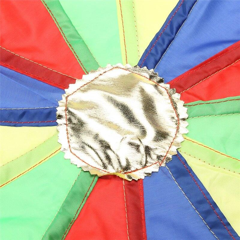 2M-Children-Kids-Outdoor-Sports-Development-Toy-Rainbow-Umbrella-Parachute-Toy-Jump-sack-Ballute-Play-Parachute-Gameing-Play-Mat-4