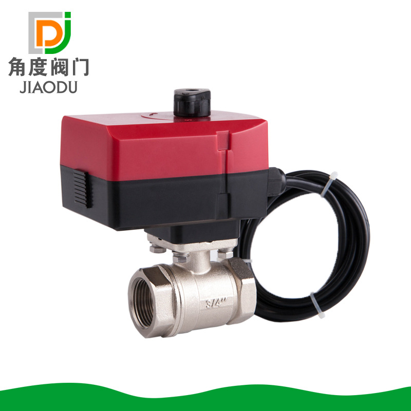 High QualityDN15/20/25/32 Valve ,  220v/24v Hand Can Be Manually Opened And Closed Brass Electric Ball Valve