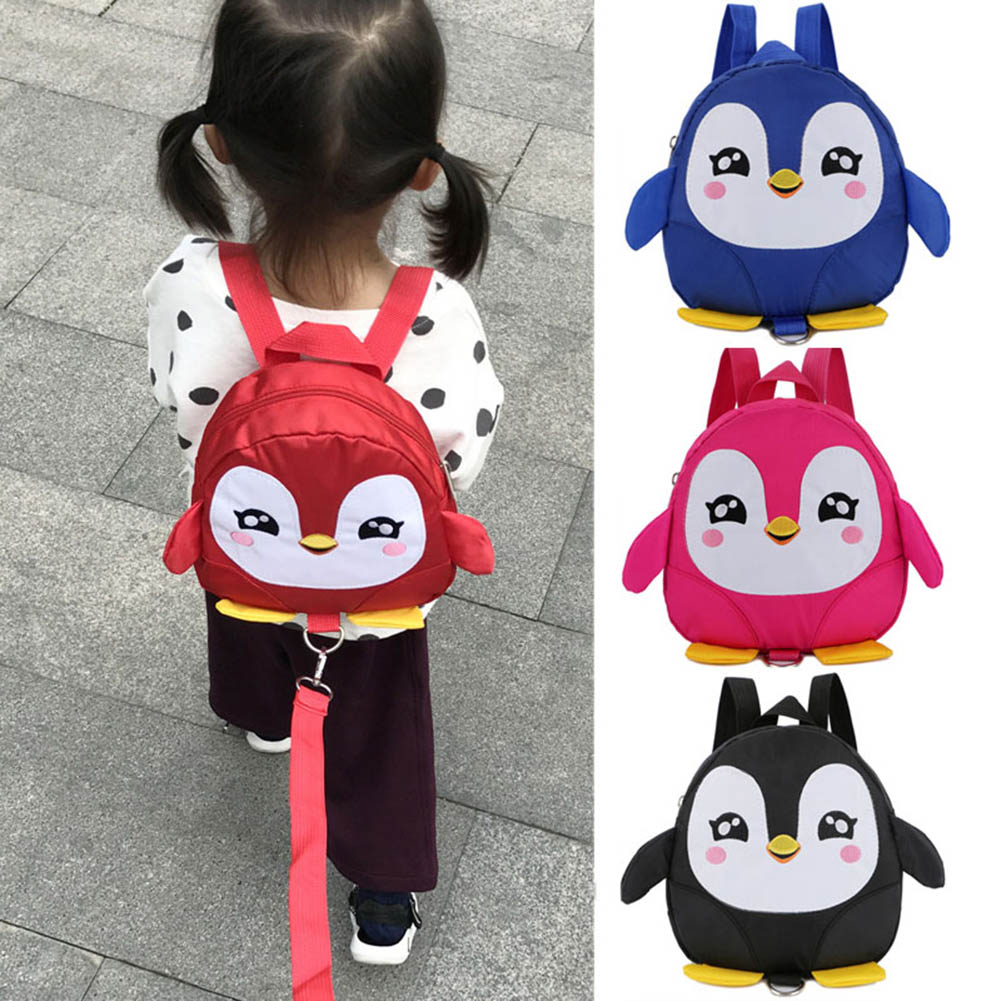 Bat Red EPLAZA Toddler Baby Owl Penguin Butterfly Leash Backpack with Anti Lost Wrist Link Leash for Child Kid Safety Walking
