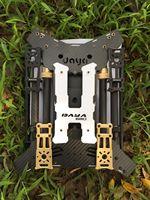 680 Дайя 680 daya 680 откидной крышкой 4 ось из углеволокна Бла (беспилотный летательный аппарат H4 Квадрокоптер Рамка w/посадки Шестерни для Мульти