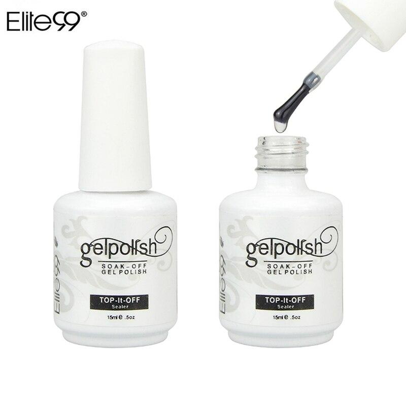 Elite99 15ML Professional Gelpolish Wiping Top Coat UV LED Gel ...