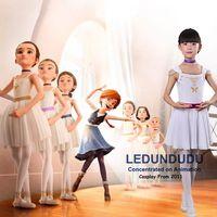 Ballerina 2016 Movie Cosplay Costume Felicie Ballet Dance Dress Kid S Ballet Training Clothes For Halloween