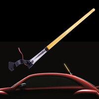 Flag Pole LED Light Signal AM FM Aerial Antenna Decoration 12V Fit For VW Audi Ford