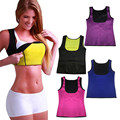 Woman Modeling Neoprene Slimming Belt Size Fine Fitness Vest Tops Slimming  Modeling Girdles