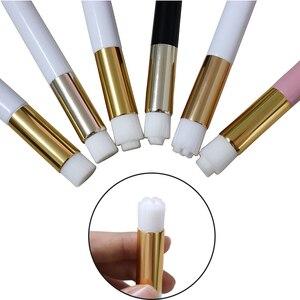 Image 1 - Yelix cílios escova de limpeza extensões de cílios ferramentas compõem escovas para chicote/nariz lavagem profissional