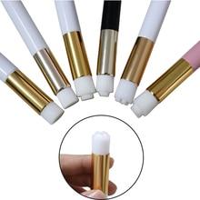 Yelix cepillo de limpieza de pestañas, utensilios para extensiones de pestañas, cepillos de maquillaje para lavado de pestañas/nariz profesional