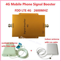 New 4G Mobile Signal Booster Repeater GSM LET 2600mhz Repetidor de sinal Celular Cell Phone Amplifier Signal Extender Full sets