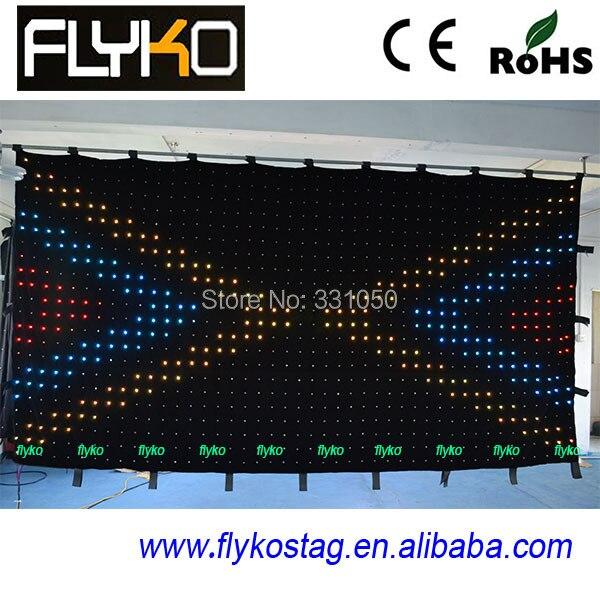 P9CM 2X4 M гибкая и цветная светодиодная сценическая стена