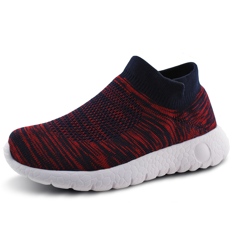 Fly Knitted Kids Shoes  boys sport breathable shoes kids school shoes girls running sneakers solid footwear protect feet  shoesFly Knitted Kids Shoes  boys sport breathable shoes kids school shoes girls running sneakers solid footwear protect feet  shoes