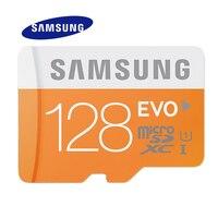 כרטיס זיכרון סמסונג EVO 128 GB 64 GB 32 GB 16 GB SDHC TF48M EVO MicroSD Class 10 מיקרו SD C10 UHS 48 M/s MB-MP32D TF Trans פלאש
