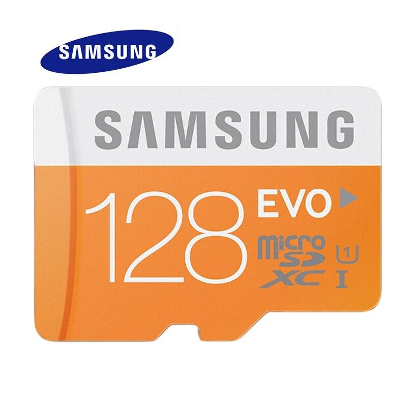 SAMSUNG Memory Card EVO 128GB 64GB 32GB 16GB SDHC TF48M EVO MicroSD...