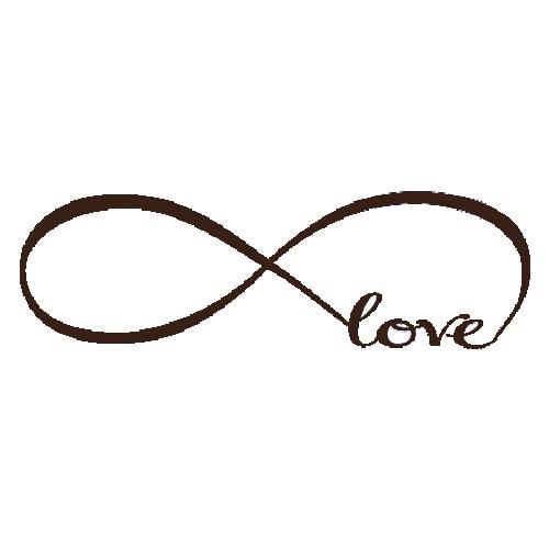 Infinity Love Symbol Blue New Blog
