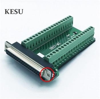 DB37 37Pin 37-Pin weibliche Signal Modul Terminal Breakout Board Nieten/Mutter typ Stecker
