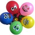 100 unids Grandes Ojos Sonriente Globo de Aire, decoración de la boda del partido del feliz cumpleaños globos de látex inflable bolas kid toys 476