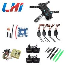 250PRO 280 Quadcopter Combo kit motor LHI MT2204, 12A ESC,CF Prop & CC3D EVO flight BLUE
