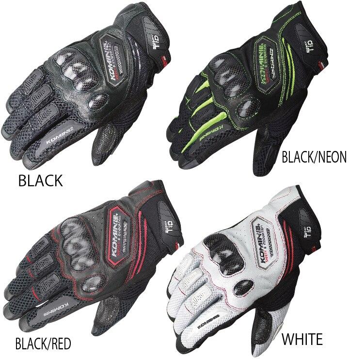<font><b>Wholesale</b></font> <font><b>Komine</b></font> GK-167 Carbon <font><b>Protect</b></font> <font><b>Mesh</b></font> <font><b>Motorcycle</b></font> Gloves Breathable Men profession Motocross Racing full finger gloves